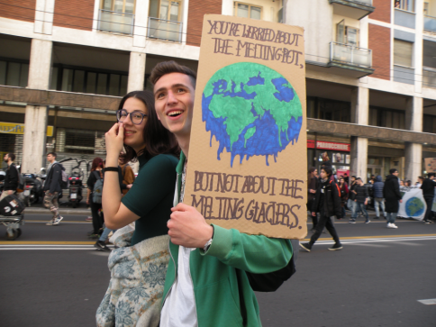 Bologna 15 marzo 2019 : Fridays for Future f.c.